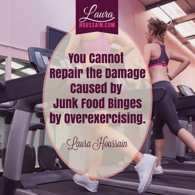 Two Lies About Dieting & Obsessive Compulsive Eating Disorder You Must Stop Believing Now to Recover Fast – junk food binge eating quote FB e1448852371336 – image