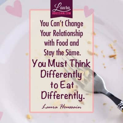 Why You Can't Stop Compulsive Eating with Struggling – must eat differently to eat quote 1 e1447576682254 – image