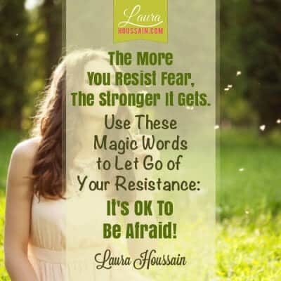 Conquer Your Fear and Stop Eating So Much Food in Four Easy Steps – stop resisting fear quote e1448845250247 – image