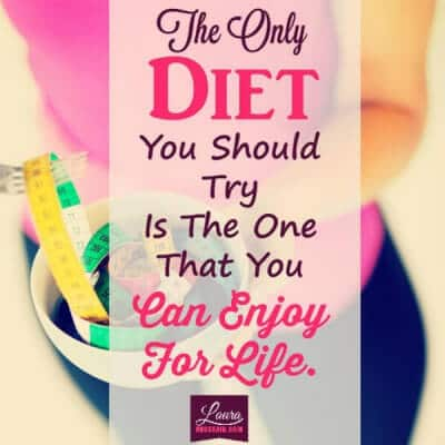 Two Lies About Dieting & Obsessive Compulsive Eating Disorder You Must Stop Believing Now to Recover Fast – the only diet quote 600x600 e1448852885983 – image