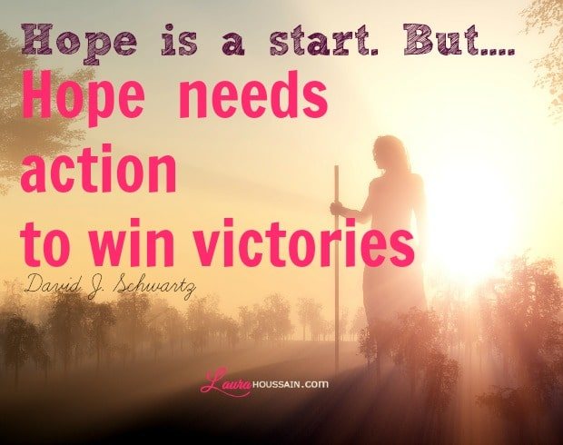 Inspirational Quote: Inspirational, Hope, Action, And Victory