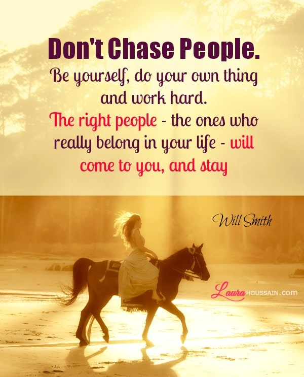Inspirational Quote: Inspirational, Stop Chasing Wrong People