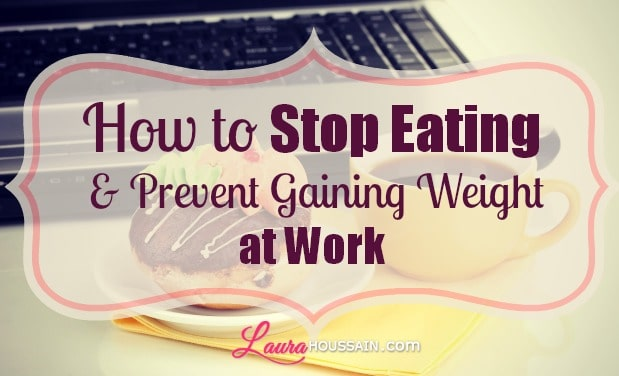 How to Stop Eating at Work