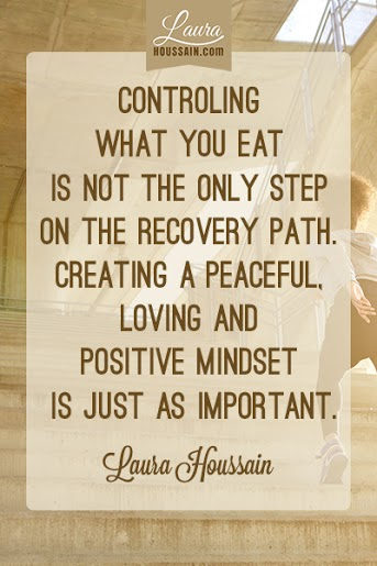 Controling what you eat is not the only step on the recovery path