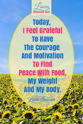 Today I Am Grateful to Have the Courage and Motivation