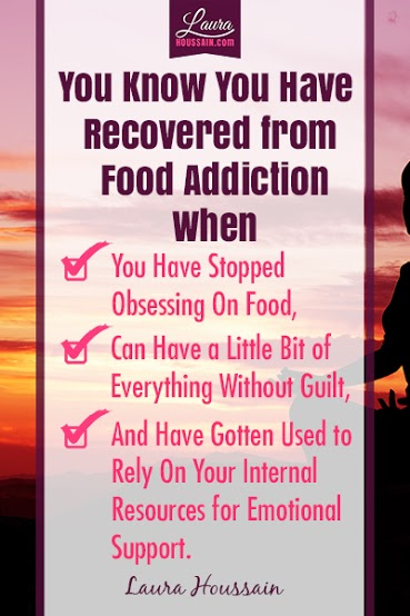 You Know You Have Recovered From Food Addiction