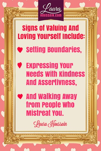 Signs of Valuing and Loving Yourself