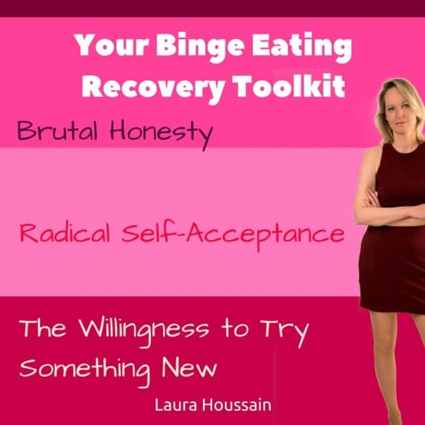 Binge eating recovery toolkit