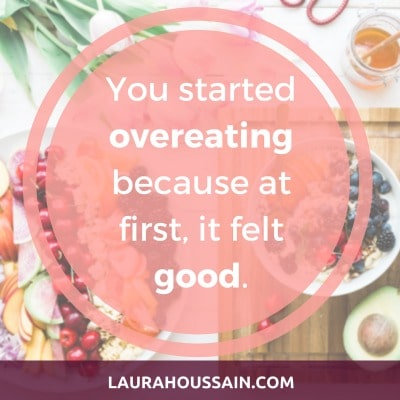 The #1 Ǫvereating Cause Compulsive Eaters Ignore - You started overeating because at first, it felt good.