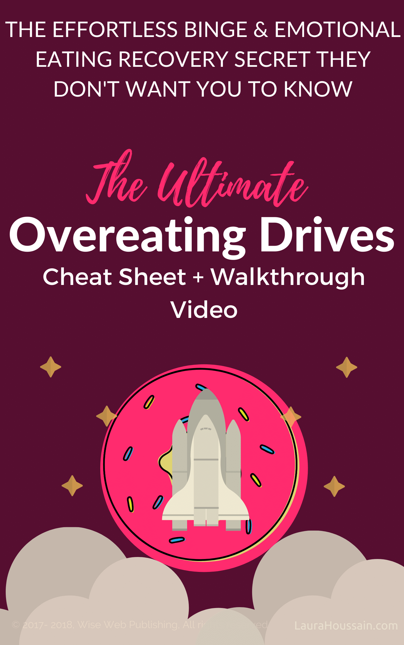overeating drives cheat sheet cover